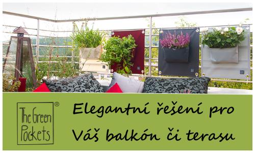 The Green Pockets AMMA zahrada na balkon či terasu
