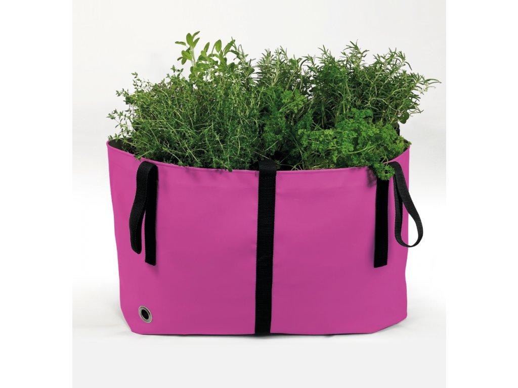 The Green Bag růžová