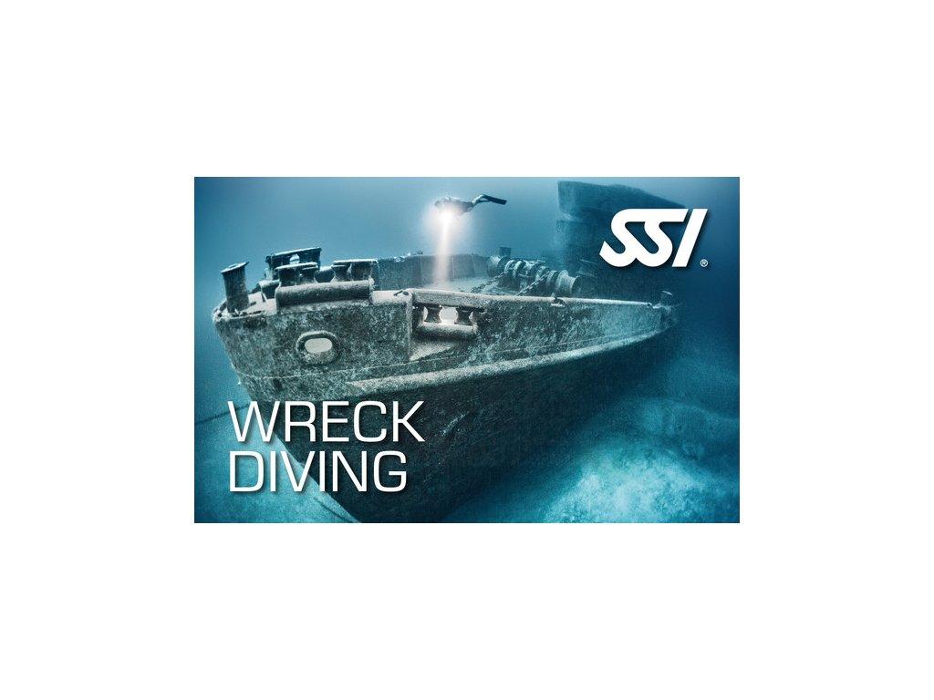 Kurz vrakového potápění SSI Wreck Diving