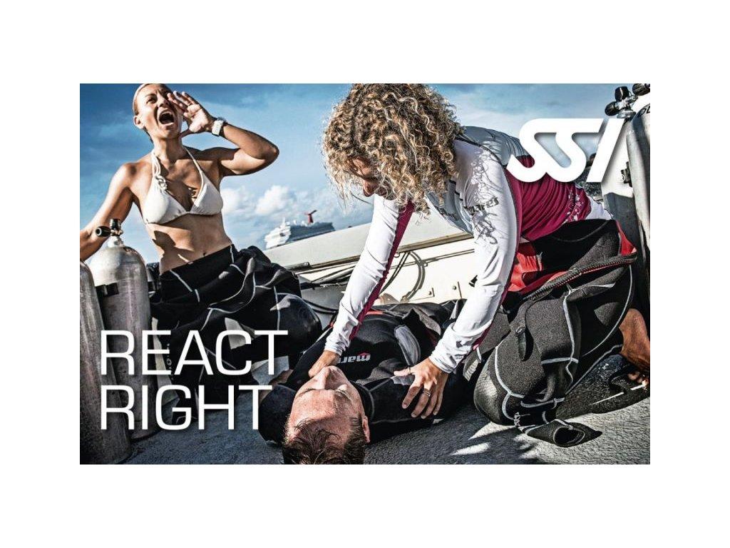 Kurz první pomoci SSI React Right