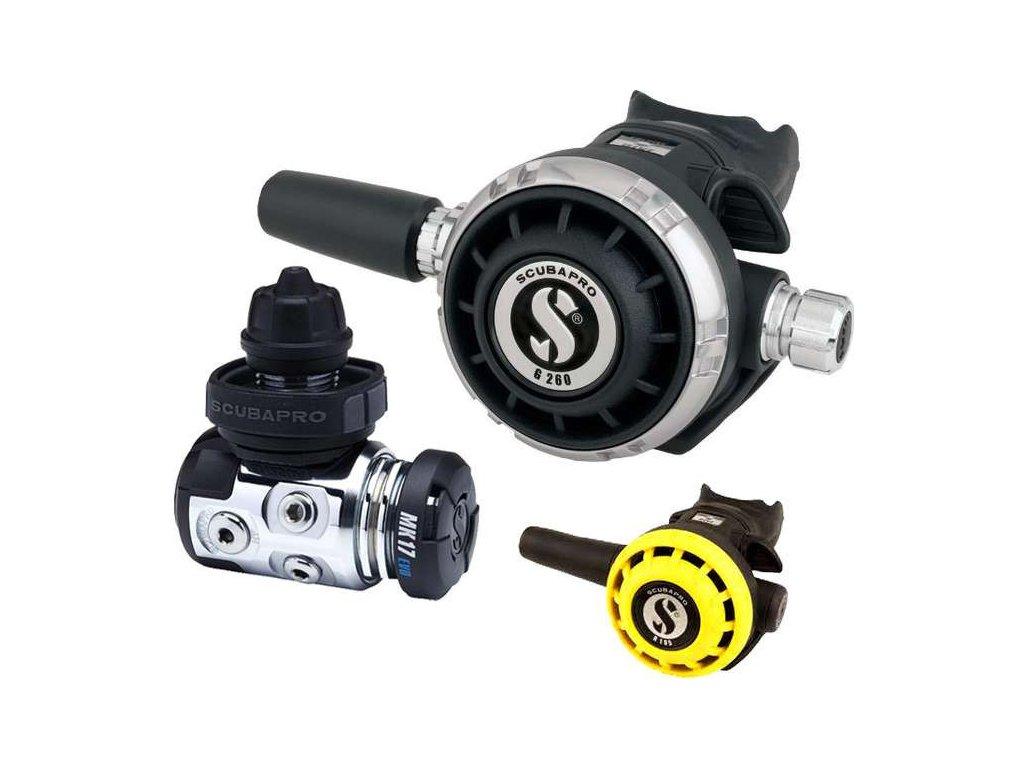 Automatika Scubapro MK17 DIN 300 EVO G260 R195 OCTO