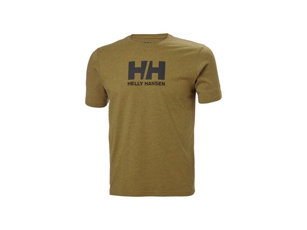 Pánské triko HH LOGO T SHIRT UNIFORM GRE