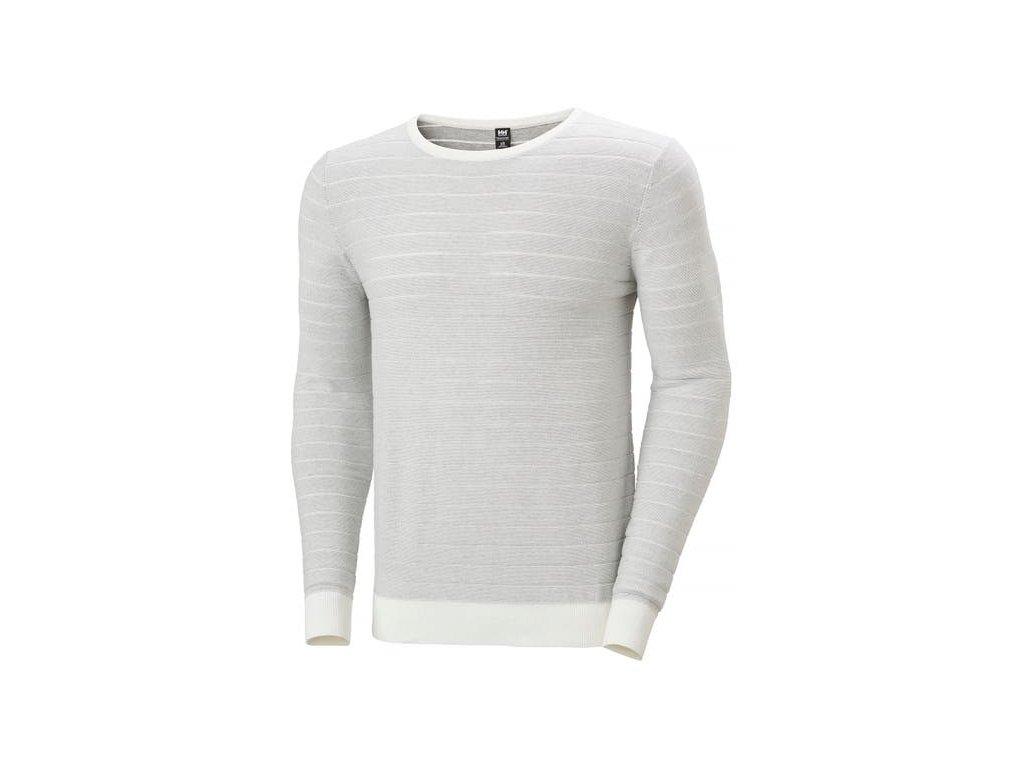 Pánský svetr HH FJORD SWEATER WHITE
