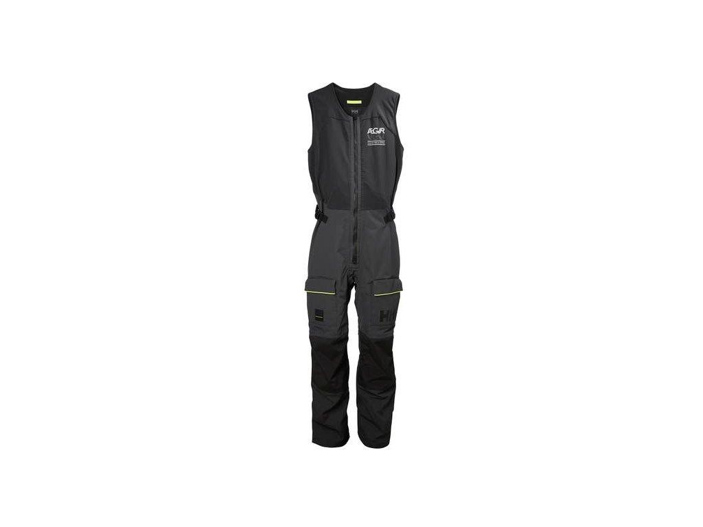 Pánské jachtařské kalhoty HH AEGIR RACE SALOPETTE EBONY