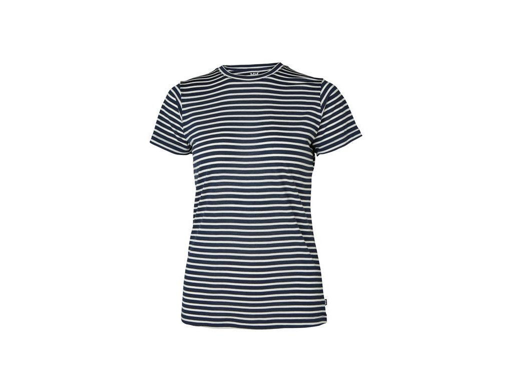 Dámské triko HH MERINO GRAPHIC TSHIRT, navy stripe
