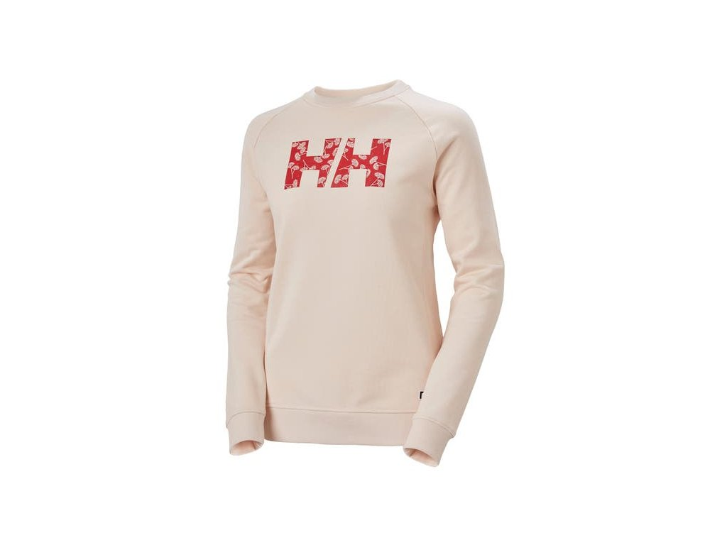 Dámský svetr HH F2F COTTON SWEATER, LIGHT ROS