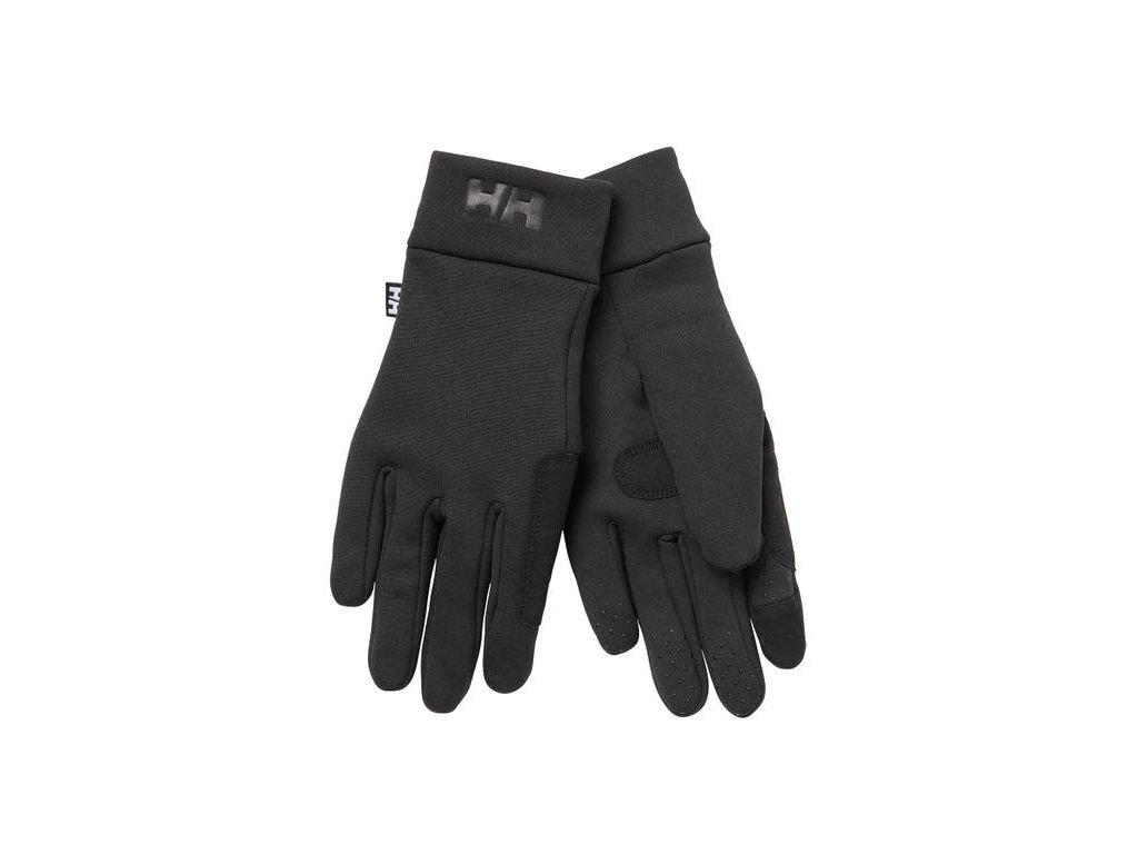 Jachtařské rukavice HH FLEECE TOUCH GLOVE LINER BLACK