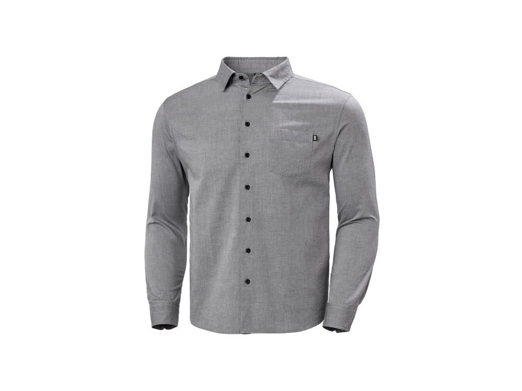 Pánská bavlněná košile HH CREW CLUB LS SHIRT NAVY