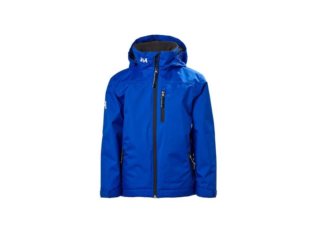 Dětská jachtařská bunda HH JR CREW MIDLAYER JACKET OLYMPIAN BLUE
