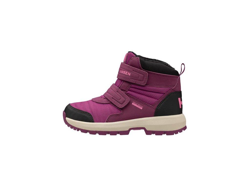 Dětské boty JK BOWSTRING BOOT HT, růžové
