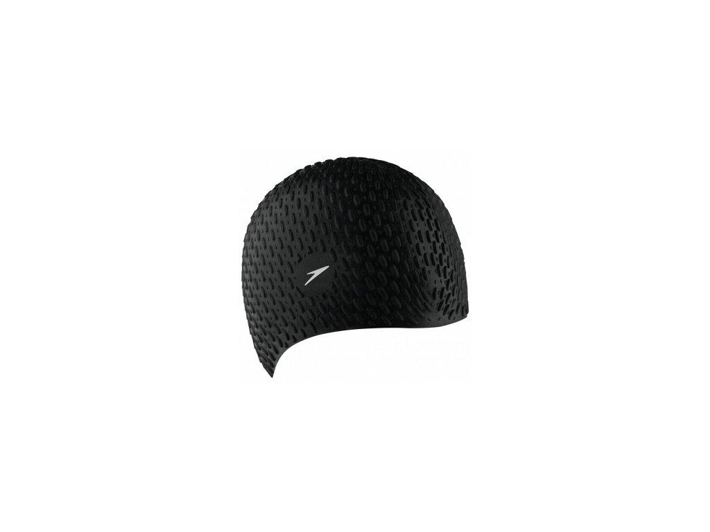 Plavecká čepice Speedo BUBBLE CAP black