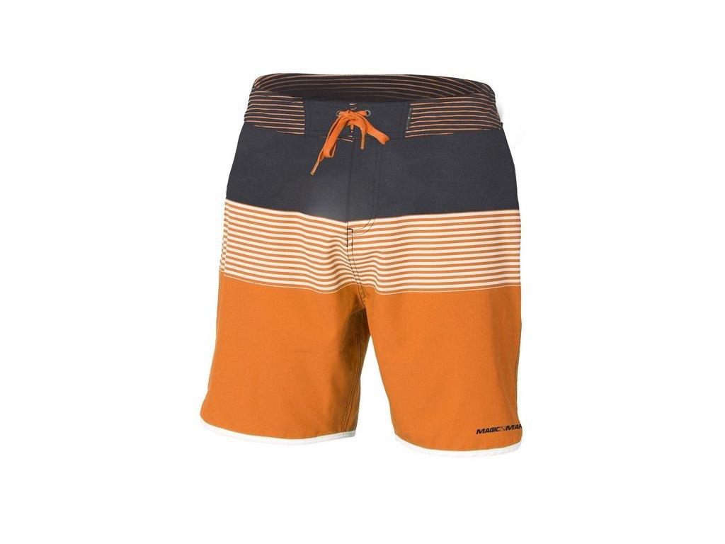 Šortky Magic Marine Astern Boardshort pánské, oranžové