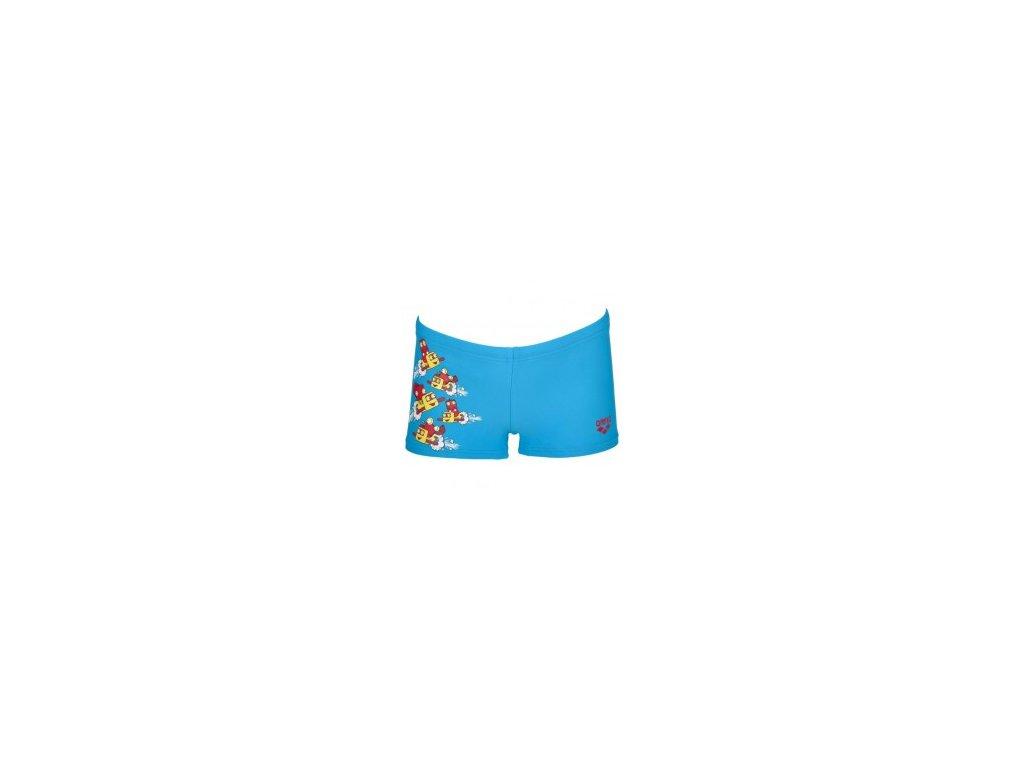 Plavky Arena KB SWASH KIDS modré chlapecké s nohavičkou