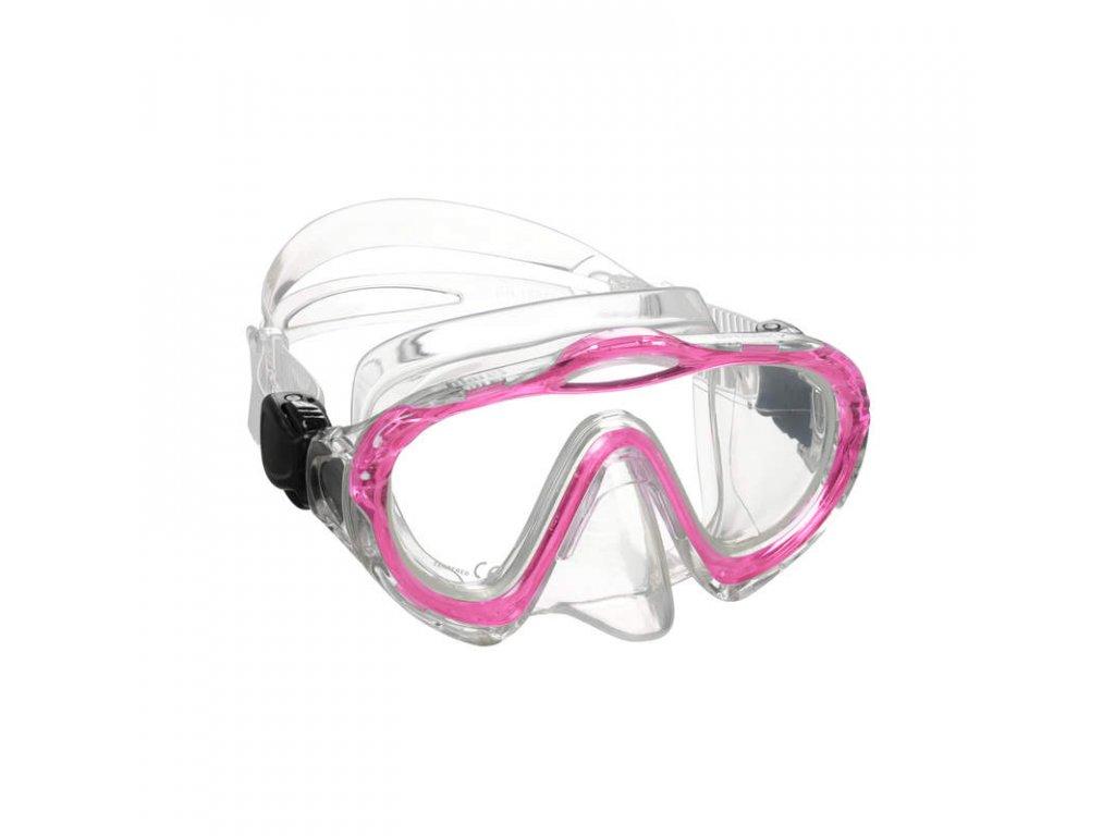 Maska Mares SHARKY růžová