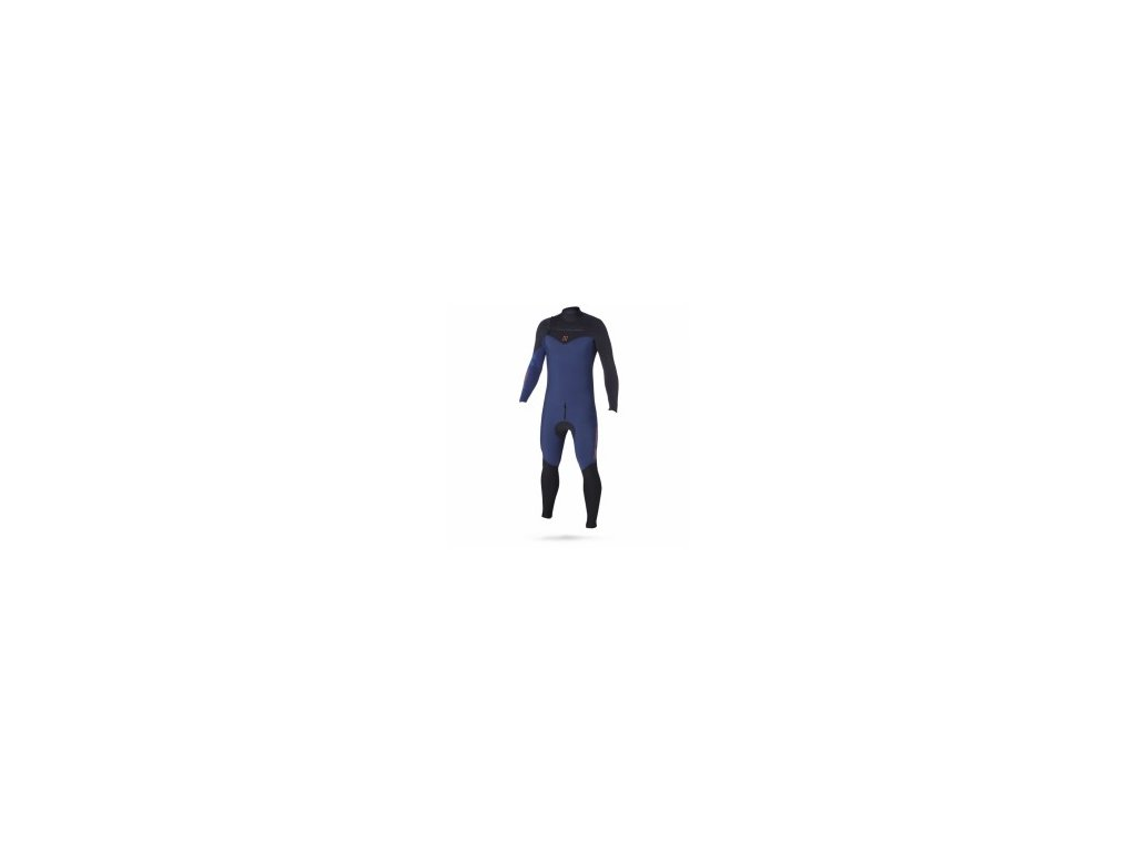 Neoprenový oblek Magic Marine Ace F zip 4 3 D L Fullsuit pánský modrý