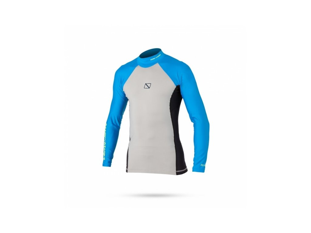 Funkční triko s dlouhým rukávem Magic Marine Energy Rash Vest L S, Blue