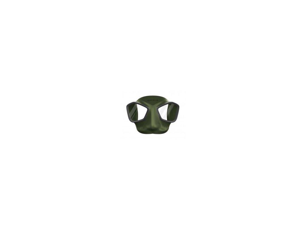 Maska Mares VIPER freedive, zelená