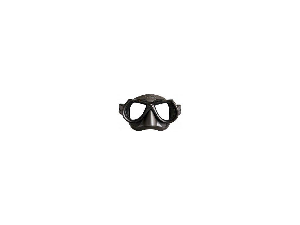 Maska Mares STAR Liquidskin freedive, černá