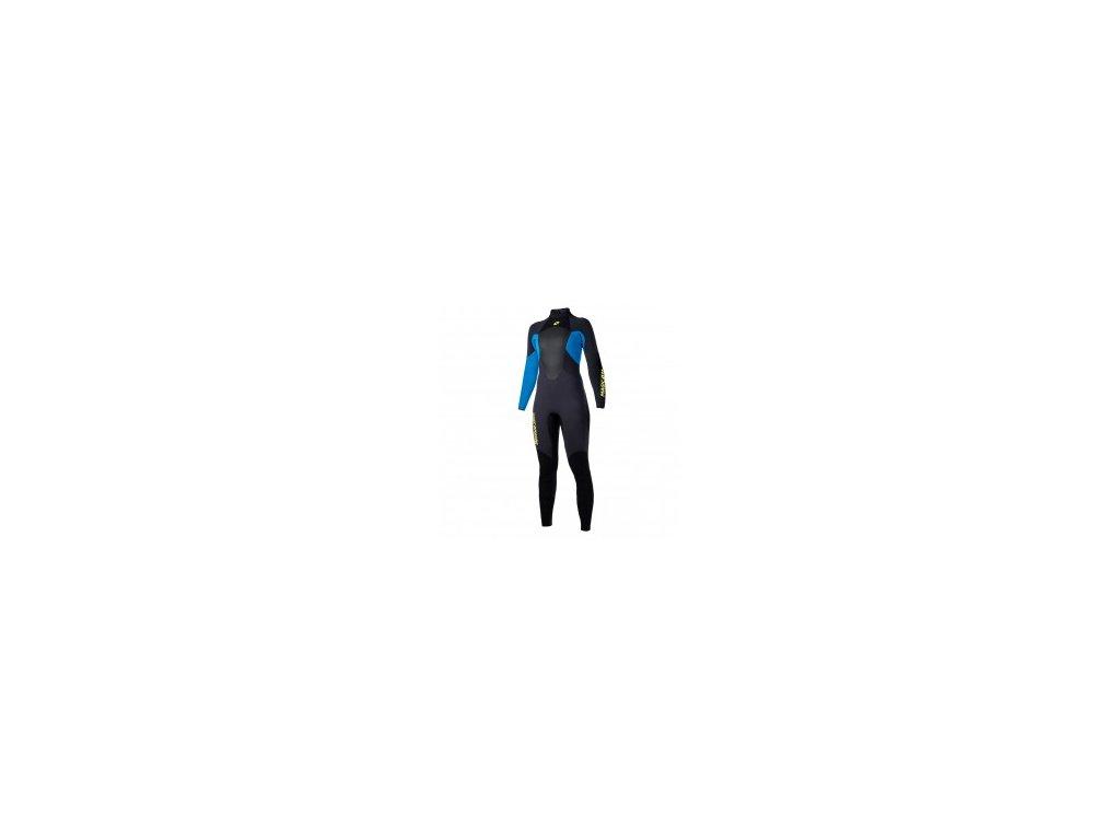 Neoprenový oblek Magic Marine Ultimate Fullsuit 5 3 mm Bzip dámský, modrý