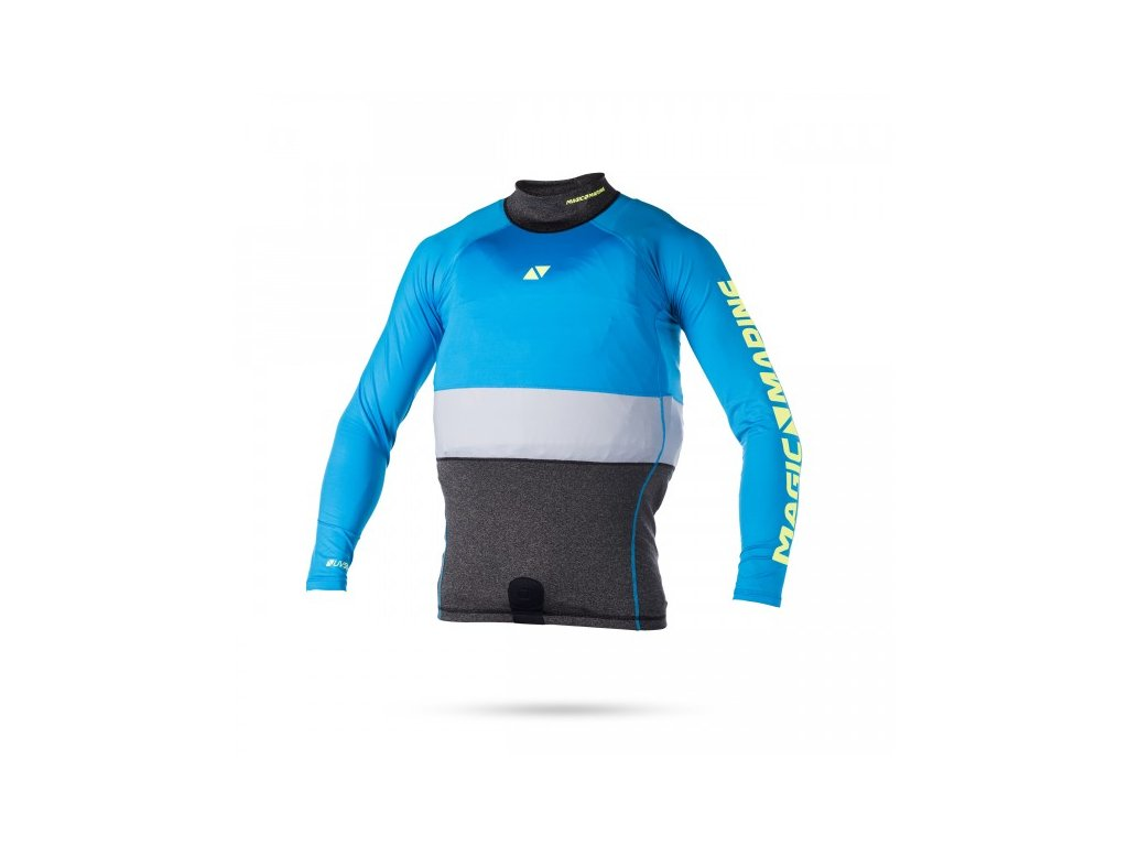 Funkční triko s dlouhým rukávem Magic Marine Racing Overtop L S modrá