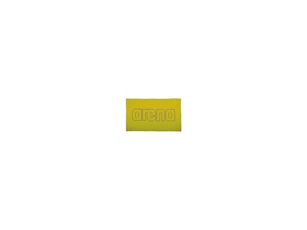 Mikrovláknový ručník Arena HAITI 100x60cm žlutý