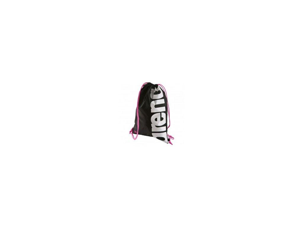 Mesh bag Arena FAST SWIMBAG černý růžový