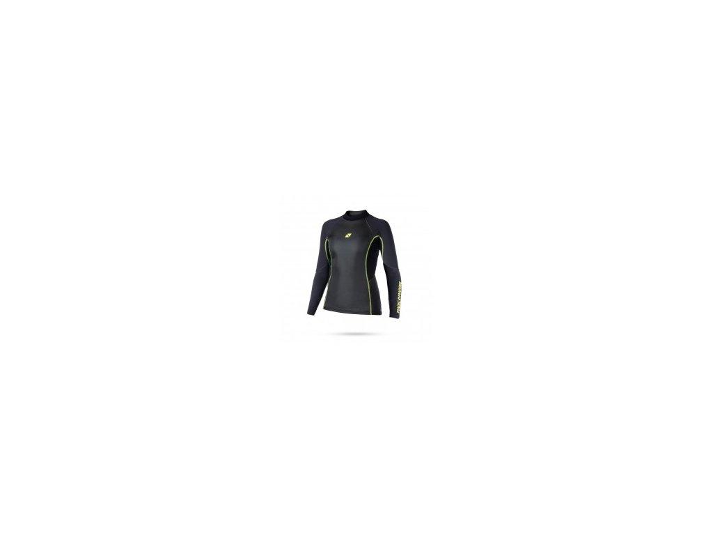 Neoprenové triko Magic Marine Ultimate Vest L S 1,5mm Neoprene Fatlock Women, dámské, černé