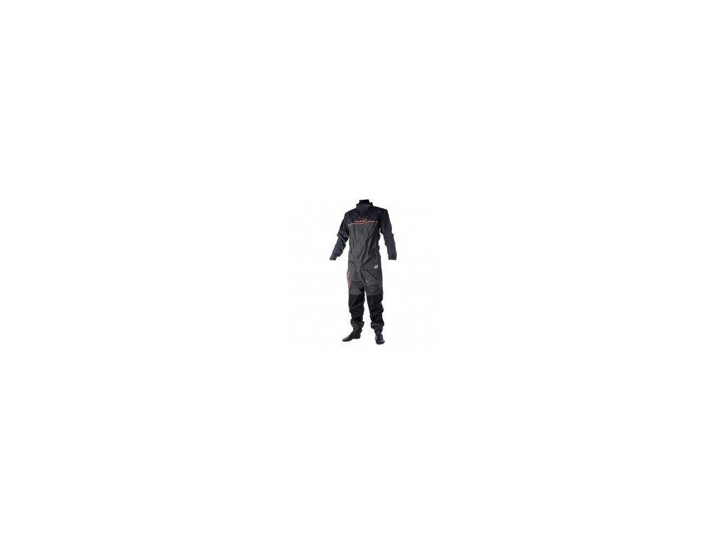 Suchý oblek Magic Marine Regatta Drysuit with Socks (frontzip) dětský, šedý