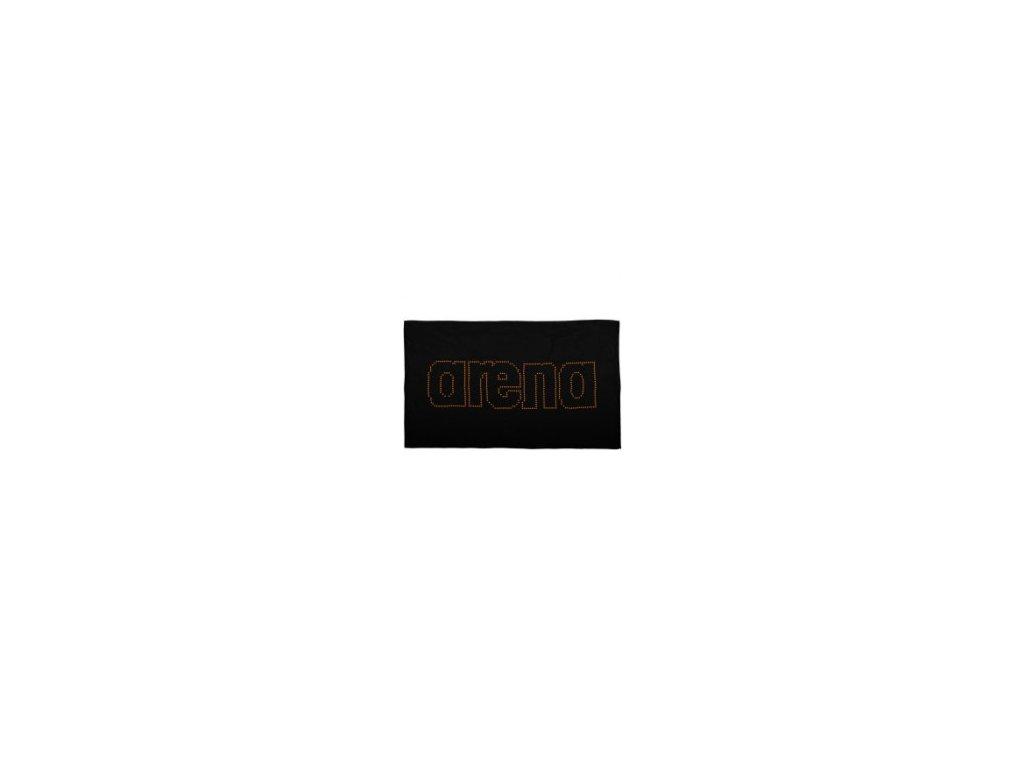 Mikrovláknový ručník Arena HAITI 100x60cm černý