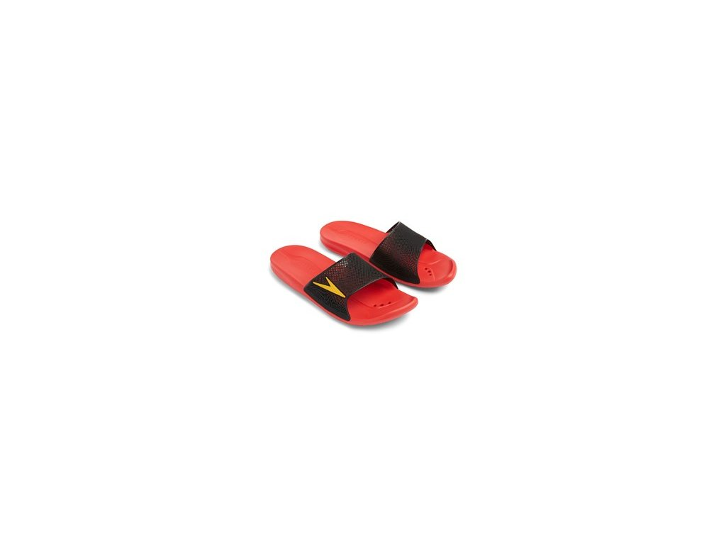 Pantofle Speedo ATAMI II MAX červená černá