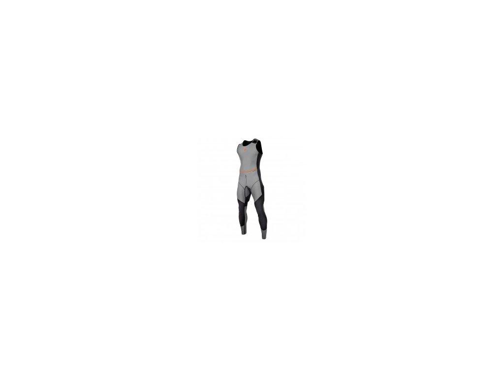 Neoprenový oblek Horizon Hiking Long John Summer 1.5 mm Flatlock unisex, šedý, vel. M