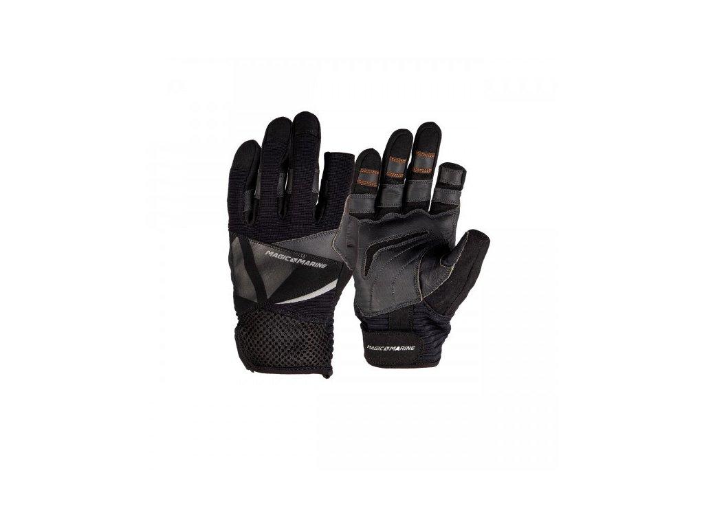 Jachtařské rukavice Magic Marine Ultimate 2 Gloves F F unisex, černé