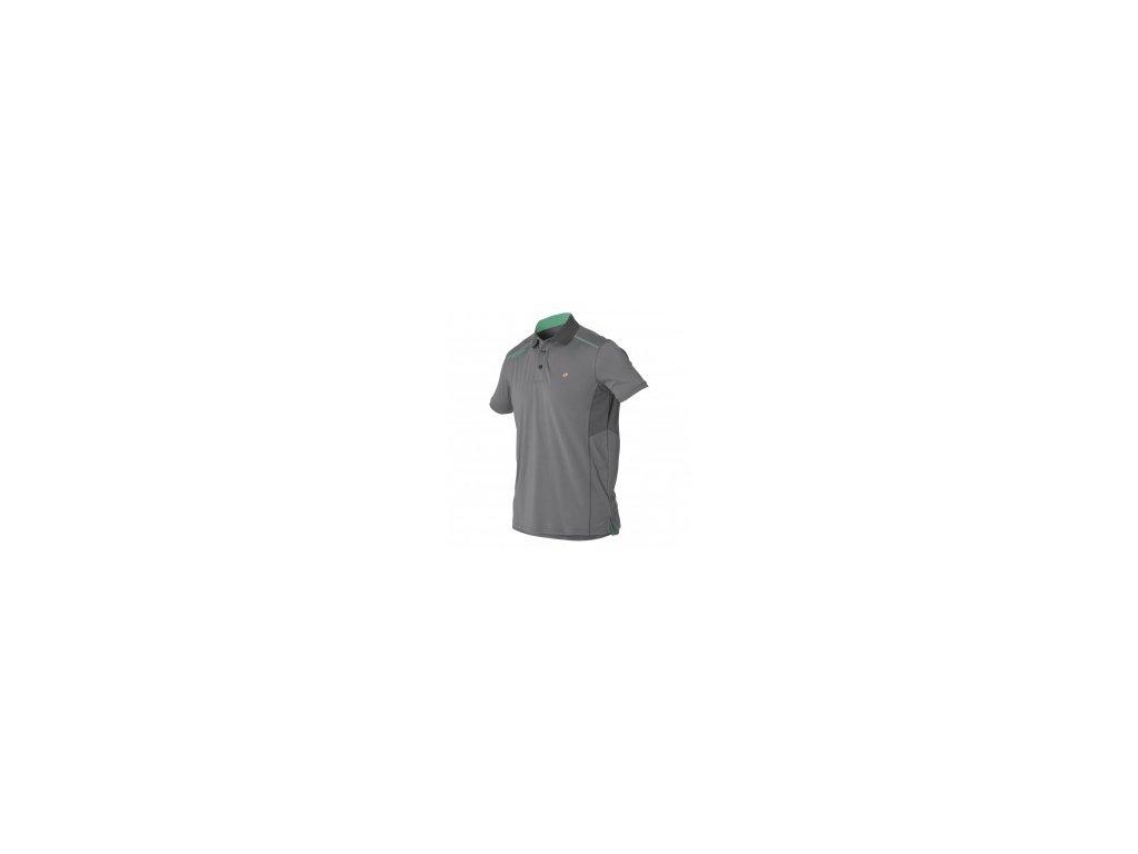 Tričko s límečkem Magic Marine Aport Polo pánské, šedé