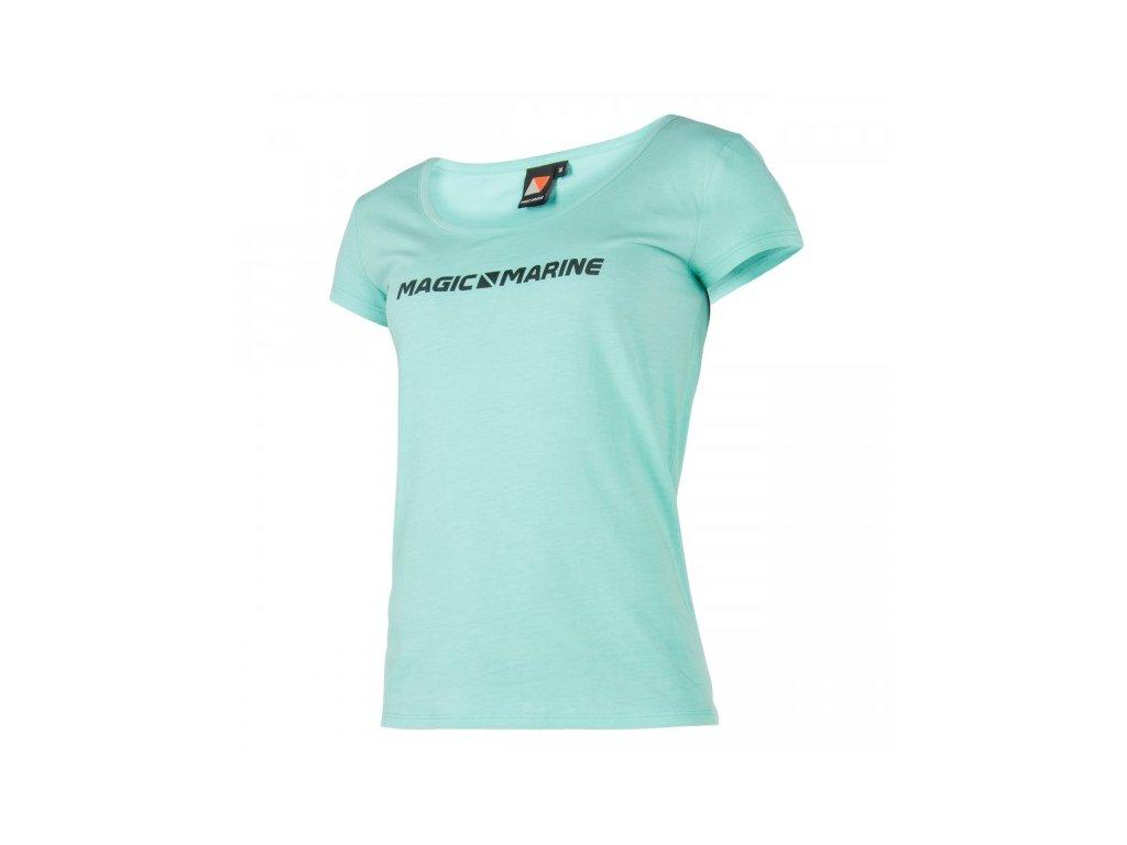 Tričko s krátkým rukávem Magic Marine Element Tee dámské, modré