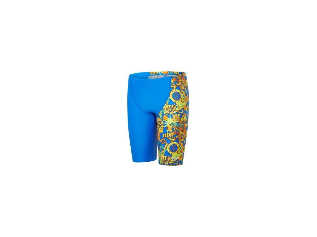 Plavky Speedo PRT PNL LEG JAM JM BLUE ORANGE, chlapecké, modrá oranžová,