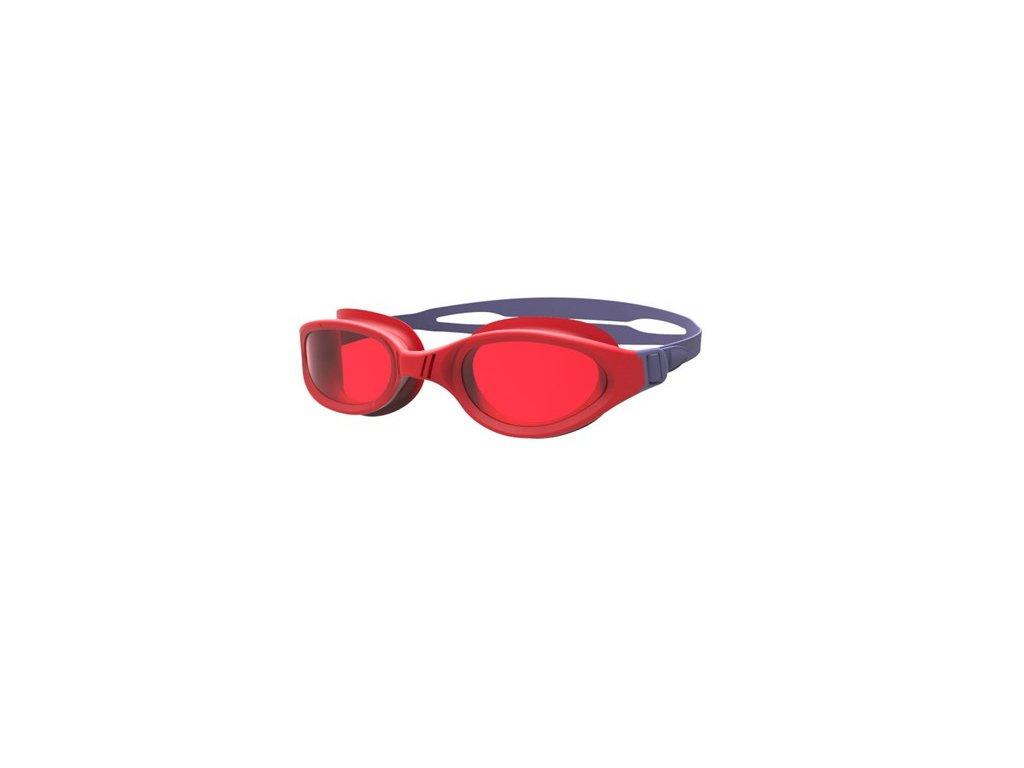 Plavecké brýle Speedo FUTURA PLUS Junior Vita Grey Lava Red