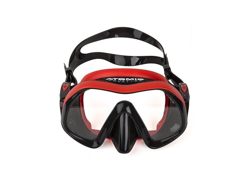 Maska Atomic VENOM Frameless Red
