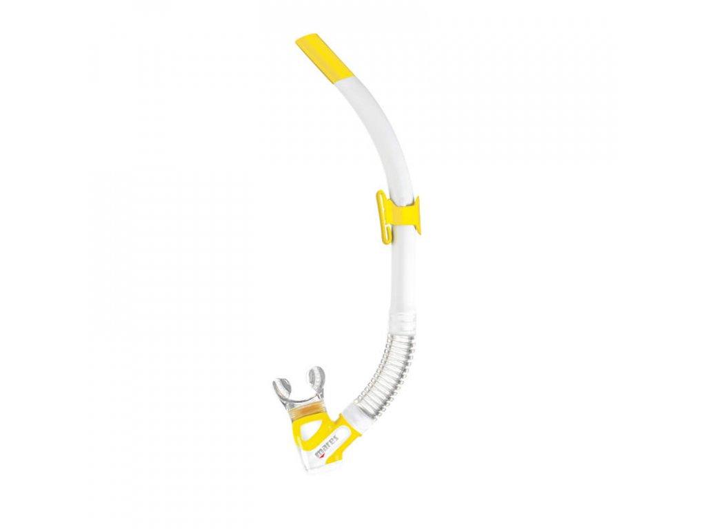 Šnorchl Mares REBEL FLEX, bílý žlutý