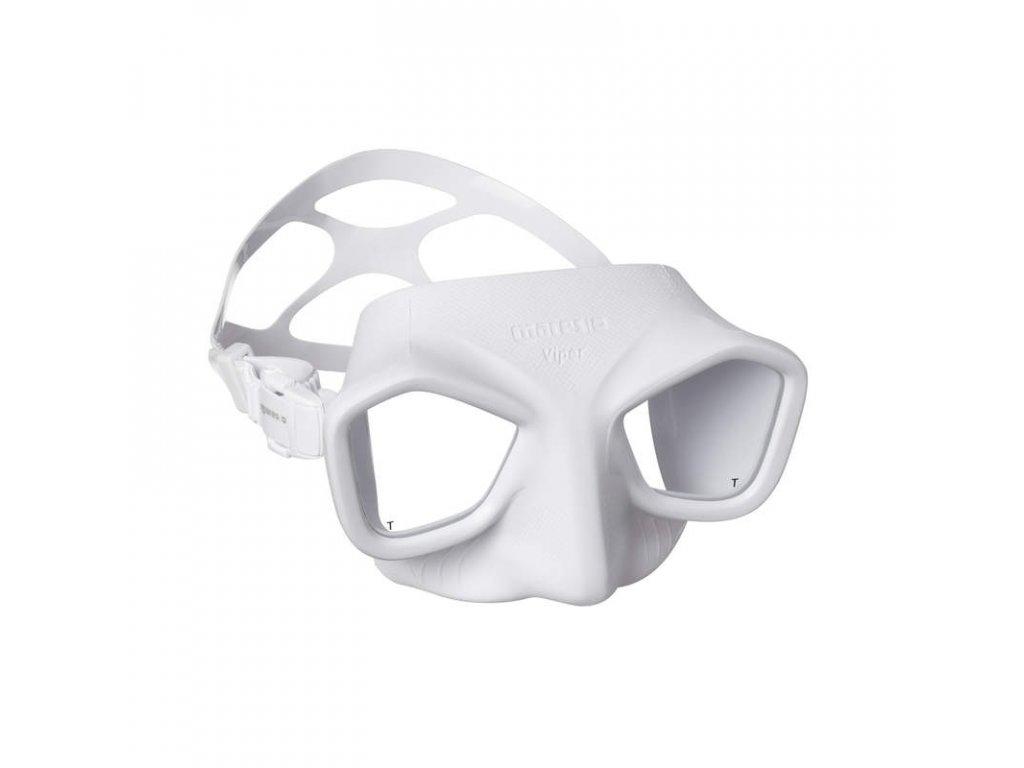 Maska Mares VIPER freedive, bílá