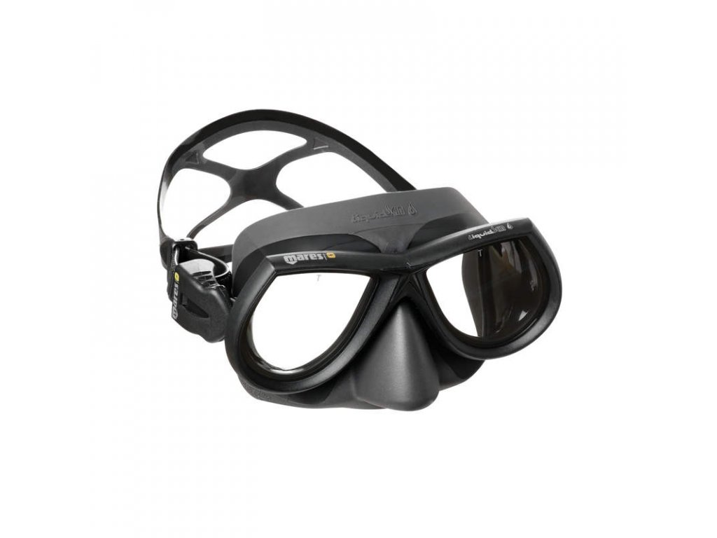 Maska Mares STAR Liquidskin freedive, šedá