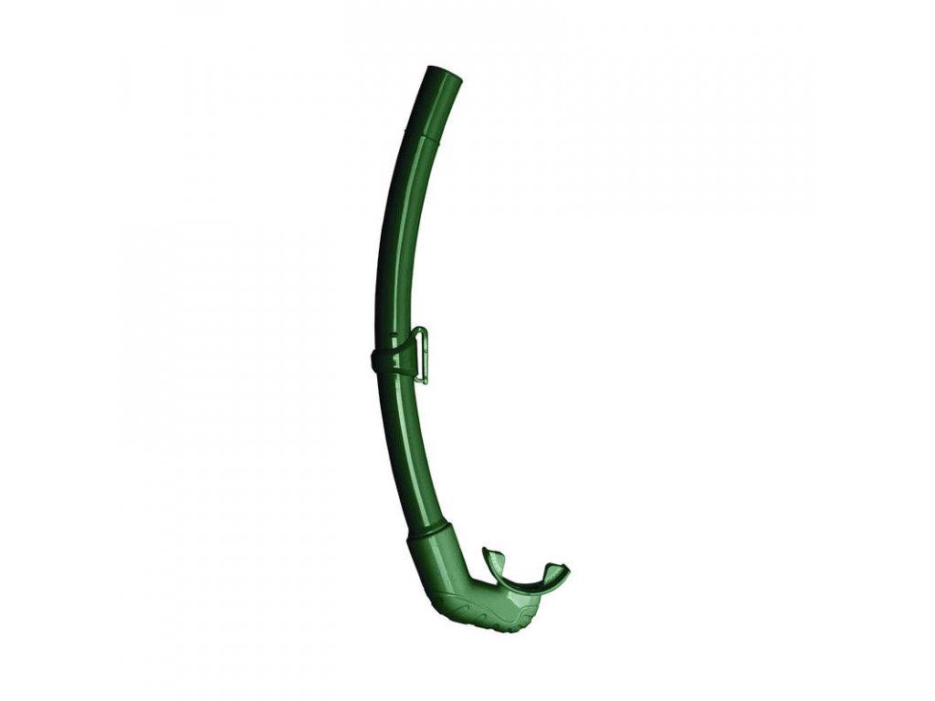 Šnorchl Mares ELEMENT, freedive, zelený