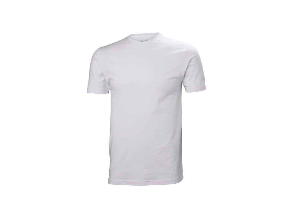 Pánské triko HH CREW T SHIRT bílé