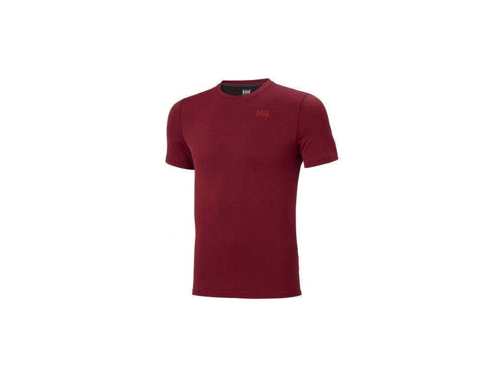 Pánské funkční triko HH LIFA ACTIVE SOLEN T SHIRT červené