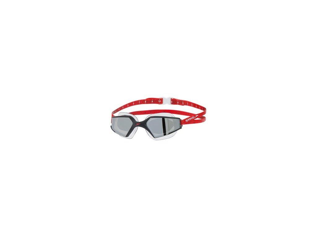 Plavecké brýle Speedo AQUAPULSE MAX GOG V3 AU černá stříbrná