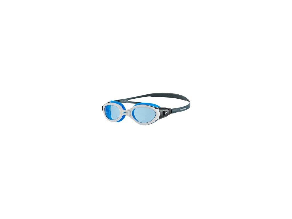Plavecké brýle Speedo FUTURA Biofuse Flexiseal, šedé bílé modré