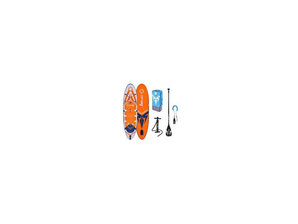 Paddleboard Zray X RIDER YOUNG X0 9 0 x 28 x 5, oranžový