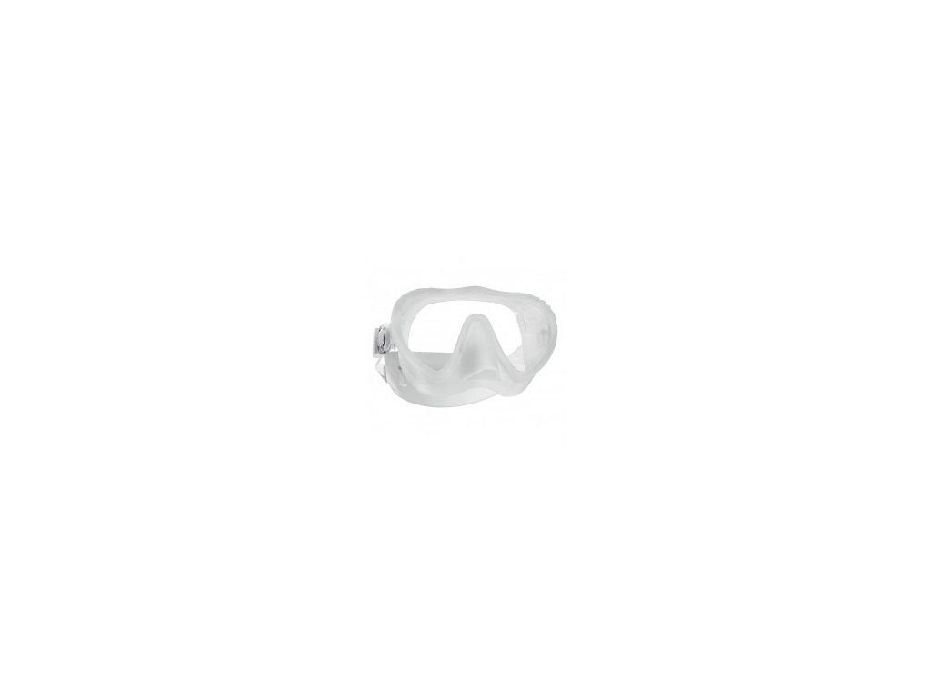 Maska Scubapro Ghost transparentní, EZ pásek
