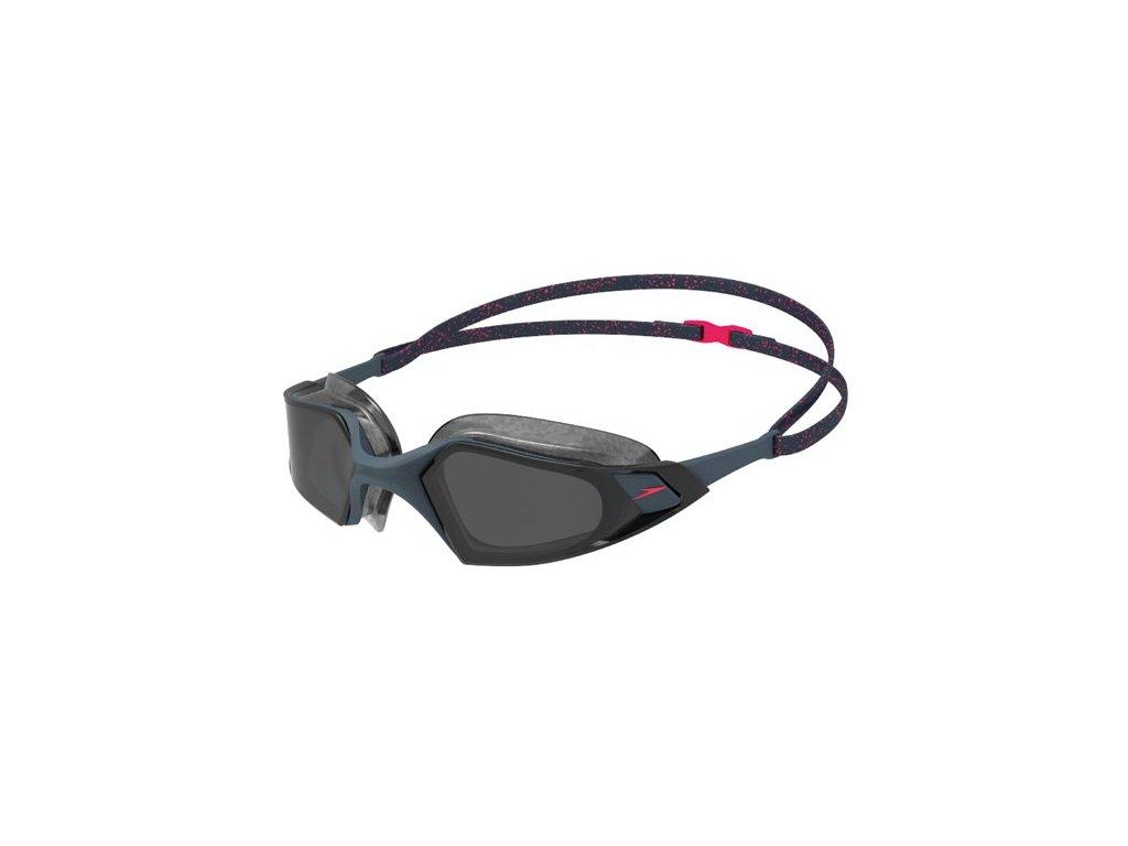 Plavecké brýle Speedo AQUAPULSE PRO GREY RED SMOKE
