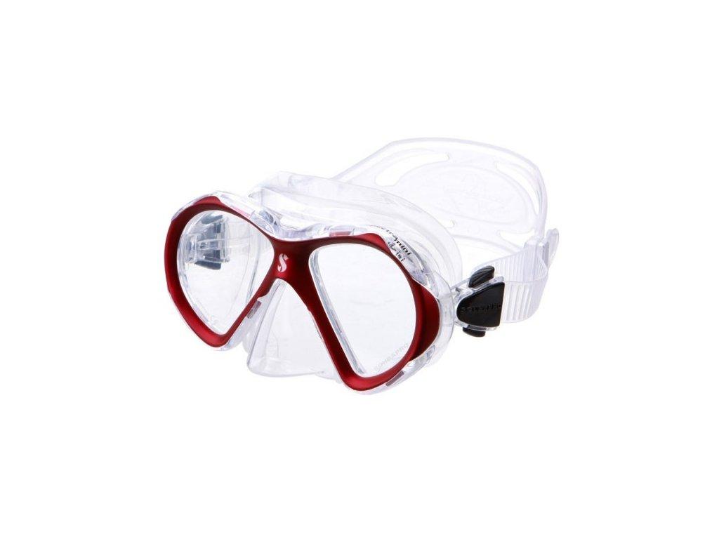 Maska Scubapro Spectra Mini červená