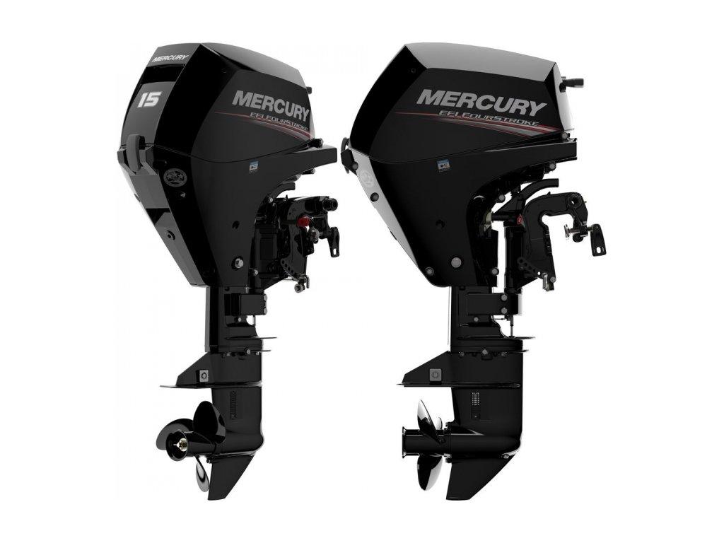 Závěsný motor mercury 15 Hp EL EFI